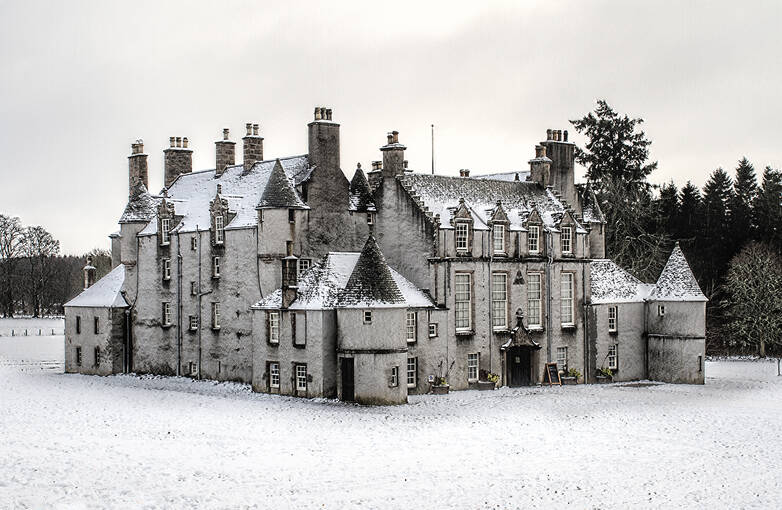 Resembling a French chateau, Leith Hall was built in 1650.