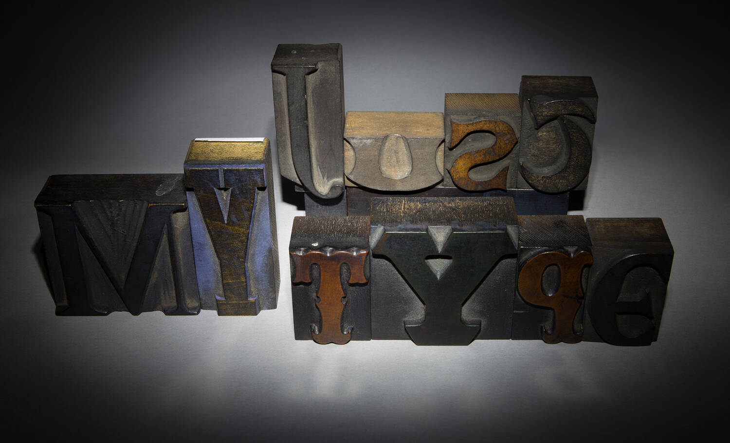 'Just My Type' compiled from fonts in the collection at Robert Smail's Printing Works