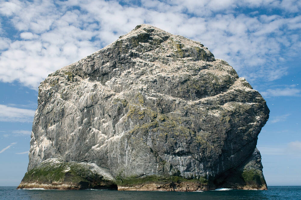 Large rock at St Kilda