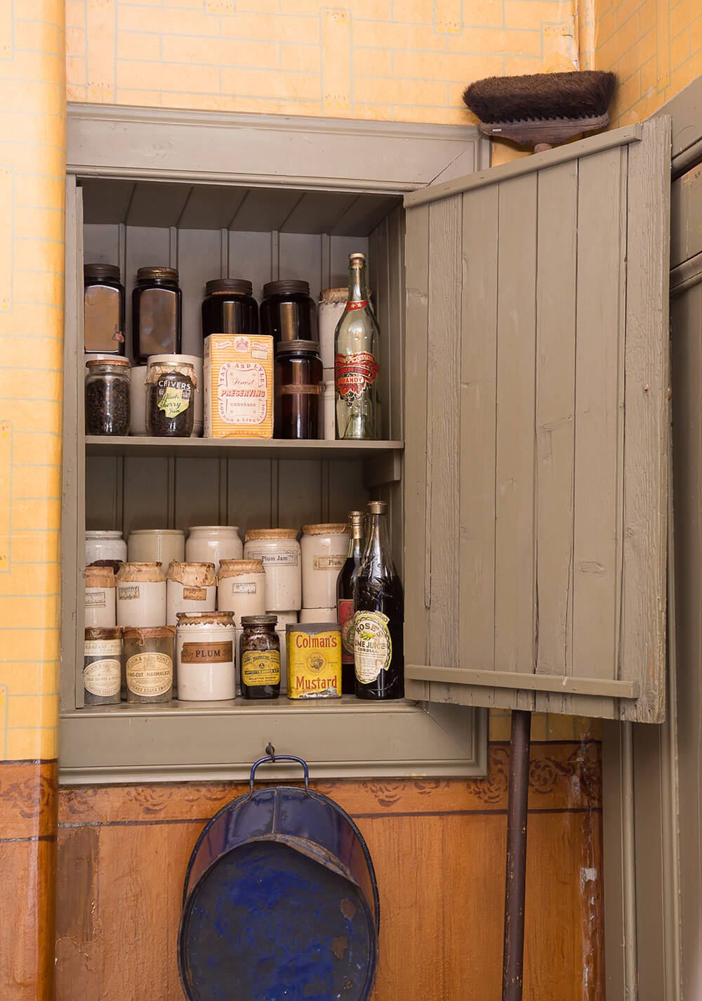 Jam cupboard at Tenement House